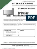 Sharp Lc 19d1erd+Lc 19d1e