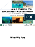 Sustainable Tourism for Biodiversity Conservation - El Nido Resorts