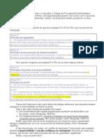 Opiniao ConfIito de interesses/Avaliação de professores/Alunos