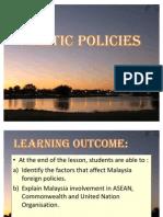 Chap 13 Politic Policies