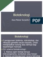 8. Bioteknologi
