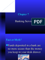 Ch7 Bank Services