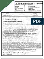 BCA Sixth Material 326201183151