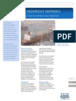 Inventory of Hazardous Materials (Green Passport) Fact Sheet