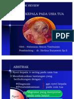 Presentation Nyeri Kepala Textbook Reading Dr. Herlina Perbaikan