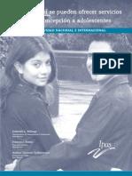 Salud sexual y reproductiva de las y los adolescentes en México ARTICULO 19