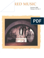 Sacred Music, 131.2, Summer 2004; The Journal of the Church Music Association of America