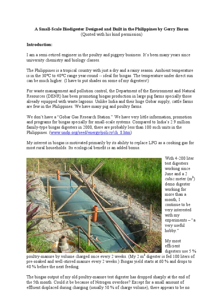 Dig Ester   Anaerobic Digestion   Biogas