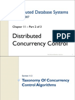 11. Distributed Con Currency Control - 2 of 3