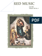 Sacred Music, 128.3, Fall 2001; The Journal of the Church Music Association of  America