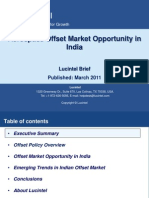 Aerospace Offset Opportunity in India