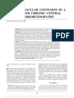 Traumatic Serous Detachments of the Retinal Pigment Epithelium