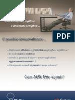 Archiviazione Elettronica e Conservazione Sostitutiva - ADS-Doc