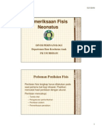 Gds 138 Slide Pemeriksaan Fisi Neonatus