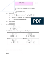 Chapter 13 II Matrices ENRICH