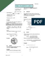 Chapter 8 i Statistics i+II Enrich
