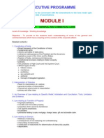 ICSI Executive Program - New Syllabus ( Typed by Milind )
