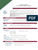 Inscripción a Ingles Enero - Junio 2012