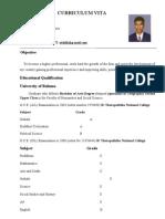 Curriculum Vitae Saman-3