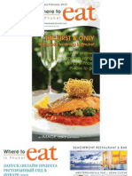 Where to Eat Phuket January - February 2012