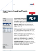 Credit Report- Republic of Austria
