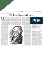 Francesc-Marc Álvaro. de John Adams a Obama