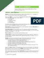 GMAT - Summary Book