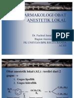 6. Farmakologi Anestesi Lokal