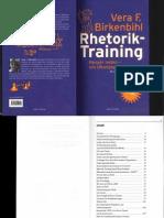 Vera F. Birkenbihl Rhetorik Training