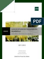 GUÍA DIDÁCTICA PSICOLOGÍA DEL DESARROLLO