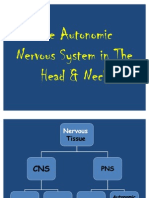 ANS in Head & Neck
