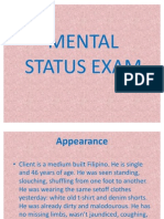 Mental Status Exam Pp