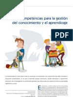 Competencias Para La Gestion Del Conocimiento y El Aprendizaje