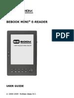 BeBook Mini Manual