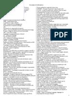 Dicionario de Informática