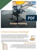 Printing Processes Screen Printing