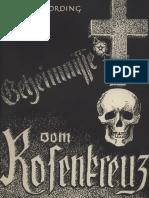 Nording, German (Hermann Rehwaldt) - Geheimnisse vom Rosenkreuz,  Ludendorffs Verlag, Ludendorff