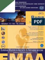 Programme du Congrès européen de chirurgie plastique - intervention du Dr Montoneri