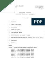 Telebrás - Procedimento de projeto calculo de caten´parias e estaiamento