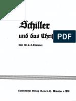 Cammer (Löhde), Walter v. d. - Schiller und das Christentum, Ludendorffs Verlag, Ludendorff