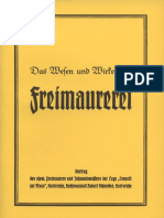 Schneider, Robert - Das Wesen und Wirken der Freimaurerei, Bohlinger, Ludendorff, Verlag für ganzheitliche Forschung - Archiv Edition