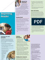Supporting your beginning Reader