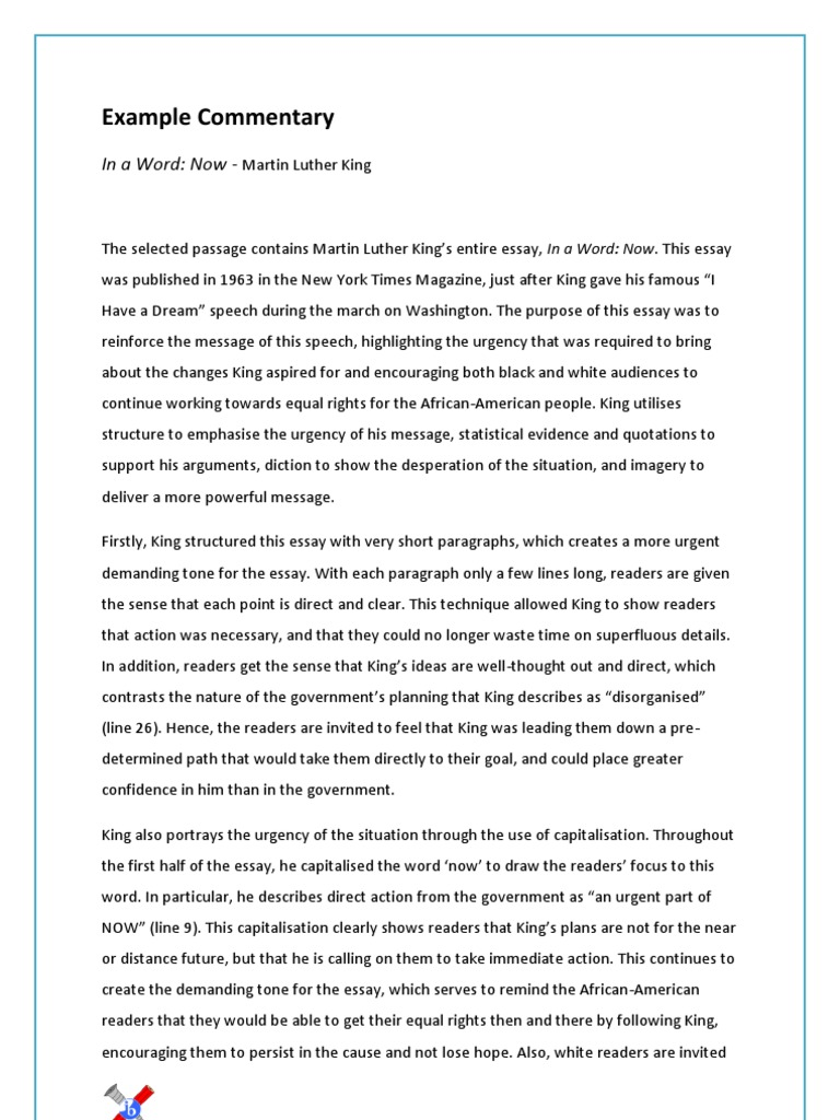 commentary essay sample essay jawaharlal nehru how to write a example ib english commentary african american civil rights 1510741956 example ib english commentary commentary essay sample commentary essay sample