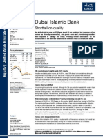 Dubai Islamic Bank Results Update 16 August