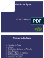 AULA 5 - POLUIÇÃO DA ÁGUA