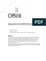 Deployment for the 2007 Office Release