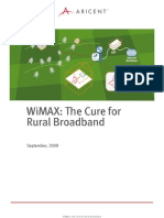 Wimax the Cure for Rural Broadband ARICENT