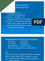 1 - Introduction Statistics