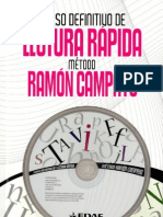 Curso definitivo de Lectura rapida metodo - ramon campayo