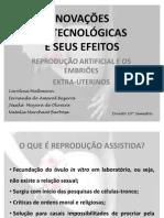 Slides Ana Helena-Inovações Biotecnologicas